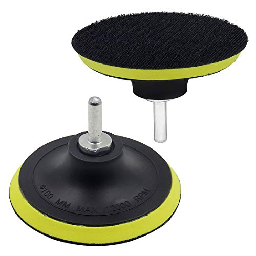 Learn More About ZXHAO 4 inch Hook & Loop Backing Pad Orbital Sander Polisher Sanding Pad w M10 Dril...