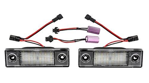 2x TOP LED SMD Kennzeichenbeleuchtung Nummernschildbeleuchtung (2201)
