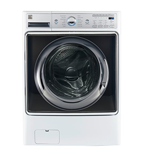 Kenmore Smart 41982 5.2 cu. ft. Front Load Washer with Accela Wash Technology in White - Compatible with Alexa, includes delivery and hookup