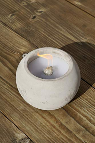 DauerBrenner Outdoor Betonfeuer | Gartenfackel | Schmelzfackel