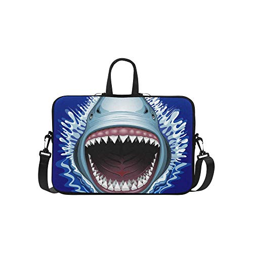 Laptop Sleeve Case Bag Shark Jaws Attack 11 11.6 Inch for MacBook Pro Air Dell HP Lenovo Thinkpad Acer Ultrabook