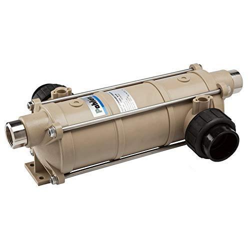 well2wellness® Pahlen Wärmetauscher Modell Hi-Temp 40kW in Titan inkl. Halterung