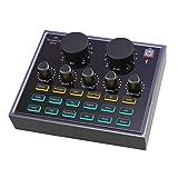 CALIDAKA Mini Sound Mixer Board,Live Sound...