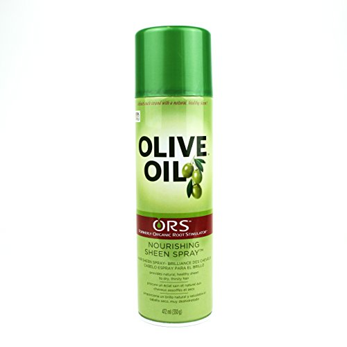 Organic Root Stimulator Olive Oil NOURISHING SHEEN SPRAY 472 ml