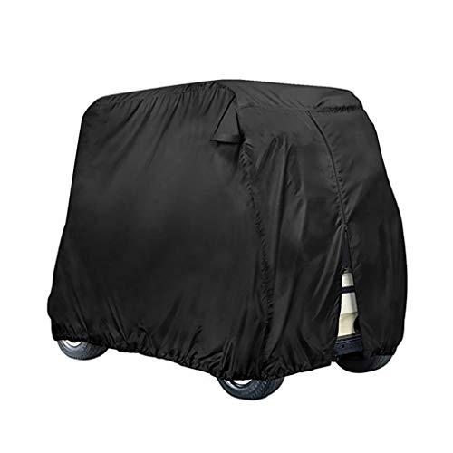 2/4 Passagers Voiturette Couverture, 210D Golf Étanche Panier Cover Universal Convient For La Plupart Marque 4 Passagers Voiturette (Color : Style3, Size : 266.7x119.4x157.5cm)