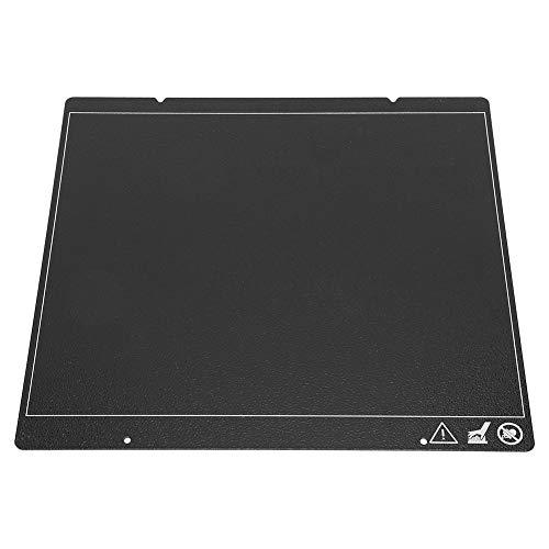 Homeriy 3D Drucker Teile für Prusa I3 Doppelschicht Textur Stahlplatte für Mk3 Mk2. 5 Mk52 Pflegeleicht