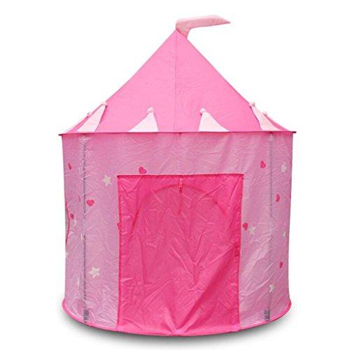 Baoblaze Tente Enfant Intérieur - Château de Princesse pour Fille Garçon Maison de Jouet Tente Pop Up