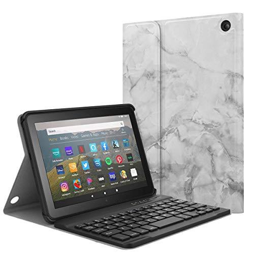 MoKo Keyboard Case Kindle Fire HD 8 Tablet