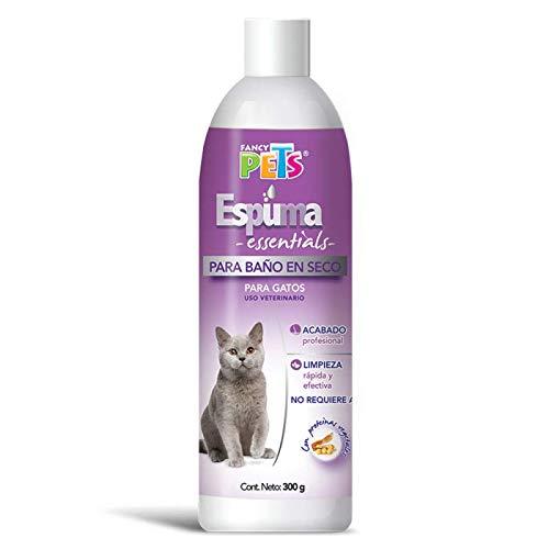 Fancy Pets Espuma P/BAÑO EN SECO Gatos 300 gr