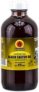 زيت الخروع الاسود الجامايكي لصلع وجميع مشاكل الشعر وإطالة الرموش Tropic Isle Living Jamaican 236 ml