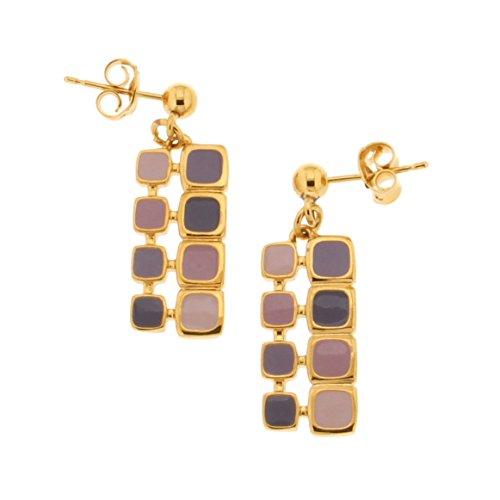 Bijoux pour tous 1200251VL - Pendientes para mujer (latón)