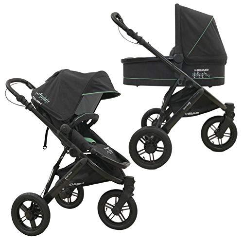 knorr-baby Head 3-Rad Jogger-Kombikinderwagen