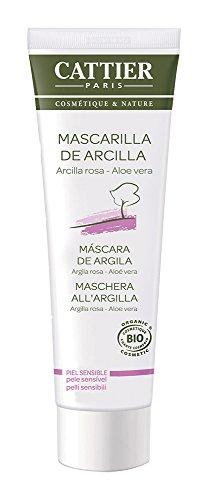 Cattier Mascarilla arcilla rosa - 100 ml