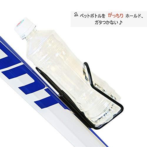 UnicoBikeguyペットケージ(500mlペットボトル専用)シルバーサイズ:155×70×70mm