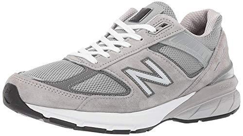 New Balance Men's Made 990 V5 Sneaker, Grey/Castlerock, 7 M US