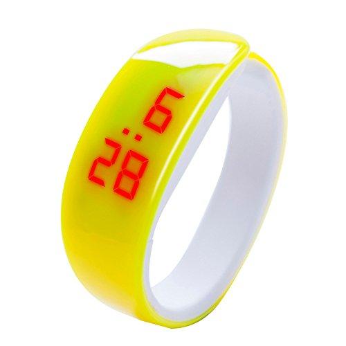 NEEKY Herren Smartwatch Display,watch uhr,Fitness Armband Mit Silikon - Armband,LED Digital Display Bracelet Watch Dolphin Young Fashion Damen Sports Bracelet