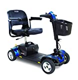 Pride Mobility S74 Go-Go Sport 4-Wheel Electric Mobility Scooter For Adults