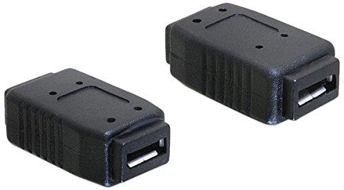DeLock Adapter USB Micro-A+B Buchse zu USB Micro-A+B Buchse