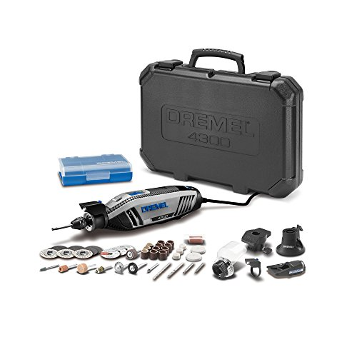 Dremel 4300-5/40 Rotary Tool Kit w/ 5 Attachments & 40 Accessories & LED Light $85.33