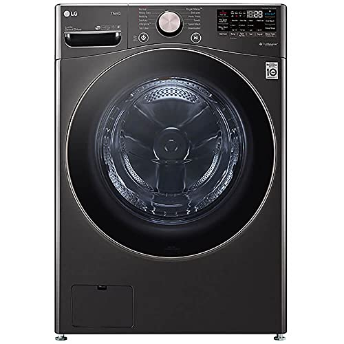 LG WM4000HBA / WM4000HBA / WM4000HBA 4.5 Cu. Ft. Ultra Large Capacity Smart wi-fi Enabled Front Load Washer with TurboWash 360 and Built-in Intelligence