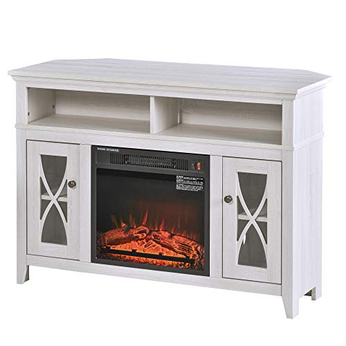 Todoe 65 Tv Stand With Electric Fireplace