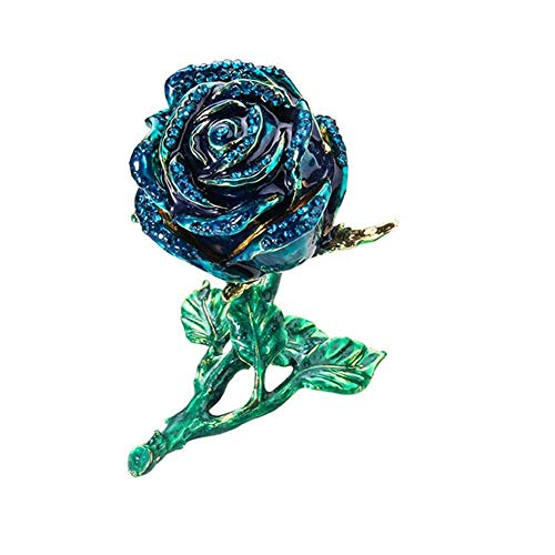 XHCP Eternal Rose,Handmade Preserved Flower Red RoseFlashing Heart Design for Girls Valentine's Day Wedding Mother's Day Anniversary Birthday