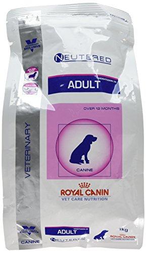 Royal Canin Veterinary Care Nutrition Dog Weight and Skin Neutered Nourriture pour Chien Chienne - 11 à 25 kg - Stérilisé de Moyenne Race - à partir de 12 mois - 1 kg