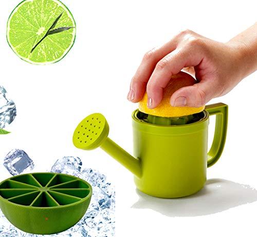 CoolCinando - Regadera exprimidor limones más cubitera silicona medio limón