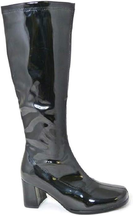 UK Size 6// US 9 Fancy Dress Accessory 60s Ladies GoGo Boots