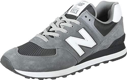 New Balance 574v2, Herren Niedrig, Grau (Steel/Magnet Est), 44 EU (9.5 UK)