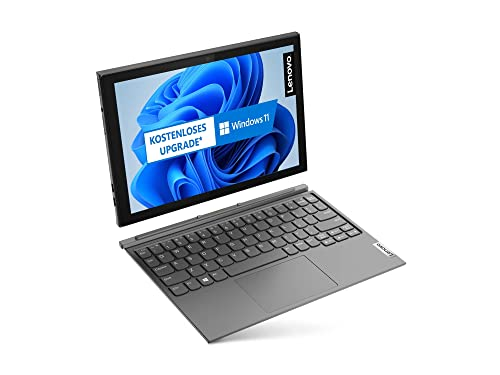 Lenovo IdeaPad Duet 3i 26,2 cm (10,3 Zoll, 1920x1200, Full HD, WideView, Touch) 2-in-1 Tablet (Intel Celeron N4020, 4GB RAM, 64GB eMMC, WLAN, Intel UHD-Grafik 600, Win10 Home inkl. MS 365 Single) grau