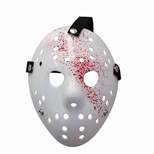 1 unids/Lote Black Friday NO.13 Jason Mask Voorhees Freddy Hockey Festival Party Halloween Masquerade (tamaño Adulto) máscaras 100 Gramos - 100g Type9