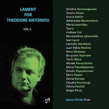 Lament for Theodore Antoniou, Vol. 2