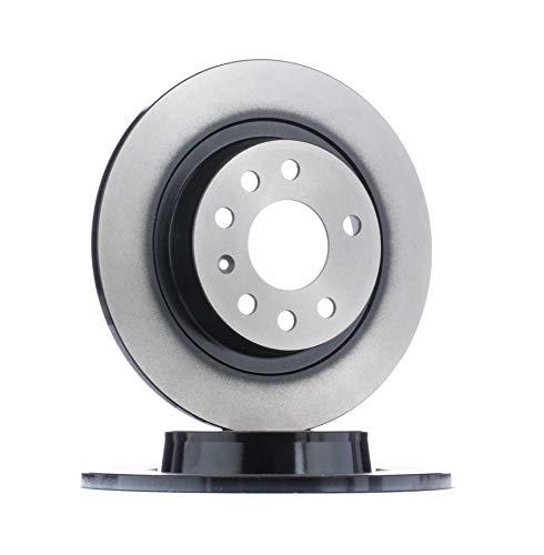 2x TRW Disque de frein HINTEN pour SAAB 9-3 YS3F pour OPEL VECTRA C GTS
