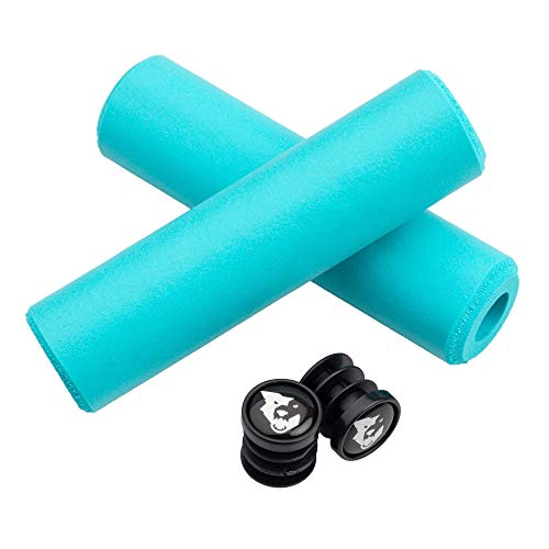 Wolf Tooth Silicone Mountain Bike Grips: Fat Paw