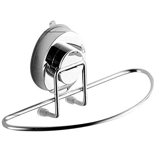 FaucetKAI Toalleros de Barra para baño Ventosa Bastidor de Toallas Cuarto de baño Anillo de Acero Inoxidable Toallero Cocina Estante de Lavabo con Barra de Toallas Soporte para Toallas