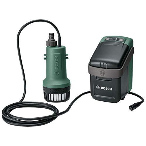 Bosch Wasserpumpe GardenPump (ohne Akku, 18-Volt-System, max. Länge des Gartenschlauchs: 25 m, im Karton)