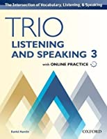 Trio Listening and Speaking, Level 3: Student Book Pack - With Online Practice