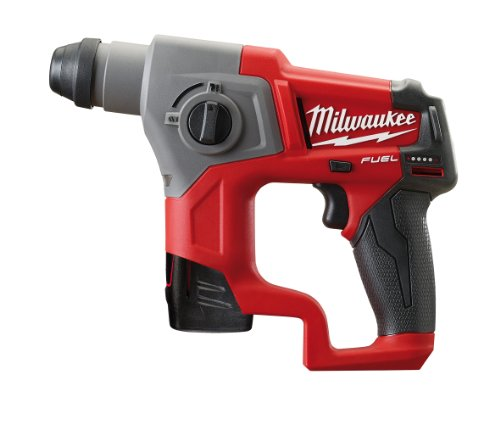 Milwaukee 4933446049 Akku-Bohrhammer M12CH/4.0 Ah, 12 W, 12 V