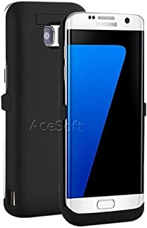 [Galaxy S7 Edge Battery Case] 6800mAh Extra Rechargeable Extended Charging Case Portable Protective Backup Power Bank Shell for Samsung Galaxy S7 Edge SM-G935V Phone - Quick Charge