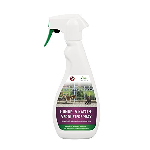 Gardigo Anti-Hunde- und Katzen-Spray 500ml I Hunde- und Katzen-Stopp, Hundeschutz, Katzenschutz, Hunde- und Katzen Verdufter I Hundeabwehr, Katzenabwehr
