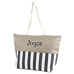 Personalized Beach Fun Tote Bag