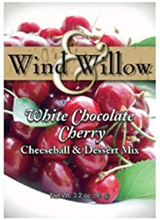 Wind & Willow Holiday Cheeseball and Dessert Mix - White Chocolate Cherry