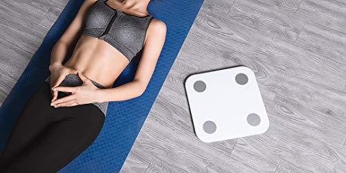 Mi Body Composition Scale 2, Bilancia Pesa Persona Digitale impedenziometrica Diagnostica Bluetooth Digitale con 13 parametri di composizione corporea, App per IOS e Andriod, bianco(versione italiana)