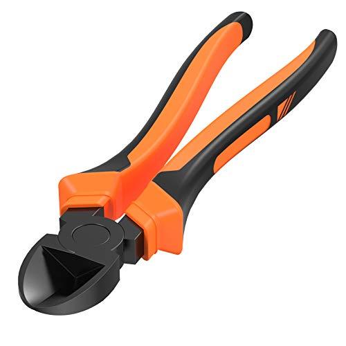 BOENFU Wire Cutter Heavy Duty, Diagonal Cutters, Sharp and Rustproof 7.5 Inches