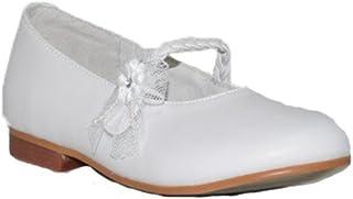 5f2bfa643a BUBBLE BOBBLE Z. COMUNIÓN Tirante Flor A1325-2 Zapatos Fiesta Niñas  Elegantes Bodas Piel