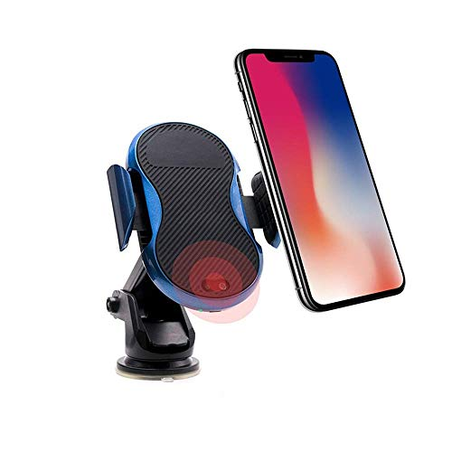 Shoujizhijia Telefoonhouder voor in de auto, snelle draadloze oplader infrarood-automatische opvraging, intelligente draadloze oplading telefoonhouder