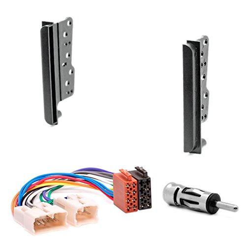 11-039-22-6 doppio DIN autoradio Autoradio DVD Dash Kit di installazione per Celica (T23), MR2 (zzw30), RAV4 (ACA/zca) faszie con ISO Adattatore Antenna Adapter