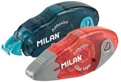 Milan-2 Unidades de Pegamento en cinta versátil- 8,4 mm de ancho x 12 m de largo