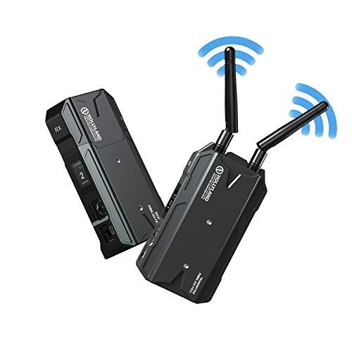 Hollyland Mars 300 Pro(Version Enhanced) Sistema Trasmettitore-Ricevitore-HDMI-Wireless-Video 300ft HD 1080P, Compatibile per Fotocamere Reflex DSLR